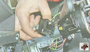 разъем жгута проводов левого подрулевого переключателя