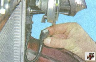 разъем жгута проводов от звукового сигнала
