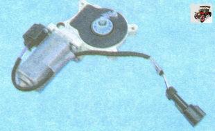 установка моторчика стеклоподъемника