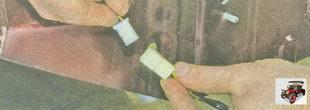 разъемы жгута проводов фонарей освещения номерного знака