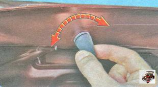 регулировка положения крышки багажника