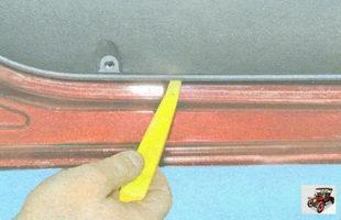 снятие обшивки двери Лада Гранта ВАЗ 2190