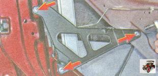 кронштейн крепления обшивки передней двери