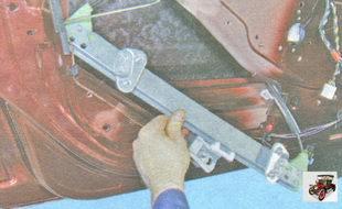 механизм стеклоподъемника в сборе с мотором Лада Гранта ВАЗ 2190