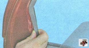 боковой уплотнитель стекла