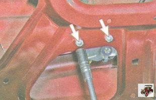 гайки крепления направляющей стеклоподъемника Лада Гранта ВАЗ 2190