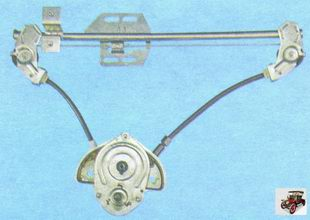 механизм стеклоподъемника задней двери Лада Гранта ВАЗ 2190