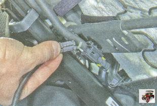 разъемы жгута проводов датчика ремня безопасности