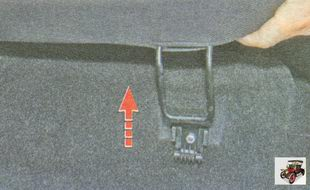 петли подушки заднего сиденья Лада Гранта ВАЗ 2190