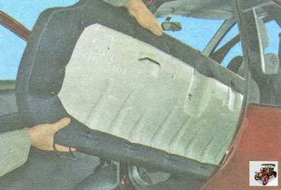 подушка заднего сиденья Лада Гранта ВАЗ 2190