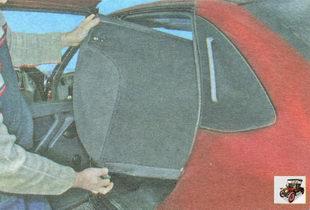 спинка заднего сиденья Лада Гранта ВАЗ 2190