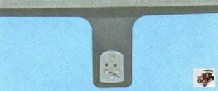 кронштейн внутреннего зеркала заднего вида Лада Гранта ВАЗ 2190
