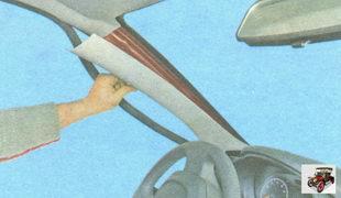 накладка передней стойки кузова Лада Гранта ВАЗ 2190