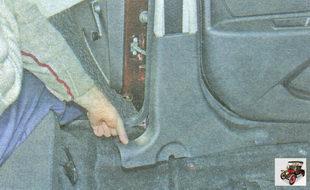 нижняя накладка центральной стойки кузова Лада Гранта ВАЗ 2190