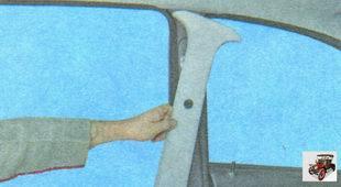 накладка центральной стойки кузова Лада Гранта ВАЗ 2190