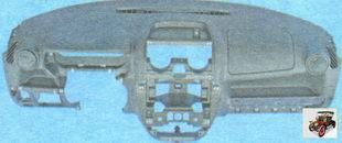 декоративная панель приборов (торпеда) Лада Гранта ВАЗ 2190