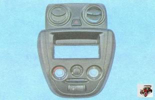 центральная накладка консоли Лада Гранта ВАЗ 2190