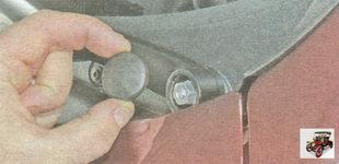 декоративная заглушка гайки крепления рычага стеклоочистителя