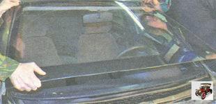 лобовое стекло Лада Гранта ВАЗ 2190 в сборе с верхней окантовкой