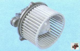 вентилятор печки (воздухонагнетатель отопителя салона) Лада Гранта ВАЗ 2190