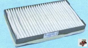 воздушный фильтр вентиляции поступающего в салон воздуха