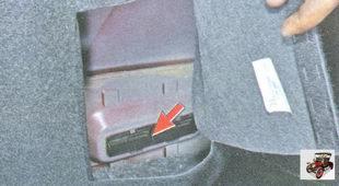 вытяжная вентиляция осуществляется через два отверстия в панелях задней части кузова
