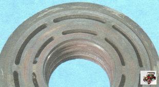 рабочая поверхность шкива компрессора кондиционера
