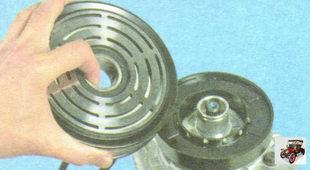 шкива привода компрессора кондиционера Лада Гранта ВАЗ 2190