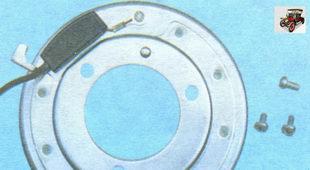 электромагнита муфты компрессора кондиционера Лада Гранта ВАЗ 2190