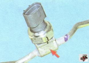 датчик высокого давления кондиционера Лада Гранта ВАЗ 2190