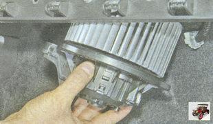 вентилятор печки Лада Гранта ВАЗ 2190
