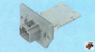 блок дополнительных резисторов отопителя (печки) Лада Гранта ВАЗ 2190