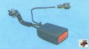 замок переднего ремня безопасности Лада Гранта ВАЗ 2190
