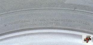 Plies tread - состав слоя протектора колеса