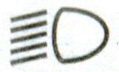 включен ближний или дальний свет фар Лада Гранта ВАЗ 2190