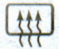 выключатель обогревателя заднего стекла Лада Гранта ВАЗ 2190