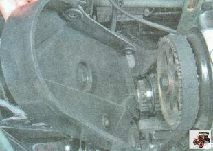 передняя крышка ремня привода ГРМ