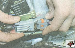 разъем проводов форсунок