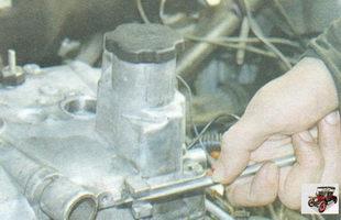 снятие крышки головки блока цилиндров