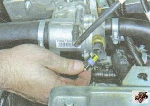 провод ДТОЖ (датчика указателя температуры охлаждающей жидкости)