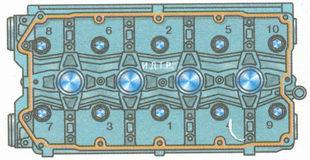 схема затяжки головки блока цилиндров