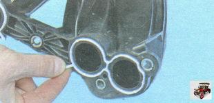 уплотнительные прокладки патрубков модуля впуска