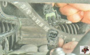 разъем проводов управляющего датчика концентрации кислорода