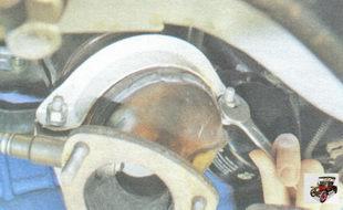 гайки крепления хомута поддерживающего кронштейна катколлектора