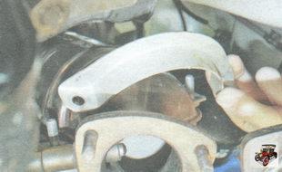 хомут поддерживающего кронштейна катколлектора
