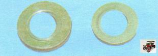 плоские шайбы крепящие катколлектор и впускной коллектор