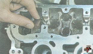 проверка гидротолкателя клапана