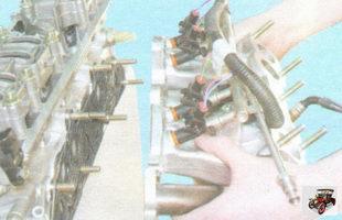 впускной коллектор и катколлектор