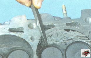 очистка камер сгорания клапанов от нагара