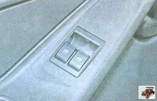 блок управления электростеклоподъемниками передних дверей